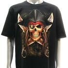 r134 M XXL XXXL Rock Eagle T-shirt Tattoo Skull Glow in Dark Pirate Ghost Ship