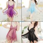 Womens Sexy Lingerie Dress See Through Nightdress G-string Underwear Sleepwear