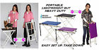 *PORTABLE*Travel Home Show Mobile PET DOG CAT GROOMING TABLE&Adjstable ARM&LOOP