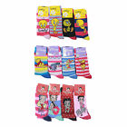 L033 LADIES GIRLS 6prs FUN NOVELTY DISNEY BETTY BOOP TEETY WINNIE PODESIGN SOCKS