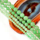 "Natural Green Aventurine Round Beads 15"" 4 6 8 10mm , pick your size"