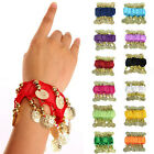 Kyпить NEW BELLY DANCE WRIST ANKLE CUFF ARM BRACELET DANCING GOLD COINS USA на еВаy.соm