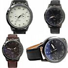 VINTAGE MENS STAINLESS STEEL DIAL LEATHER BAND SPORT AMY MILITARY WRIST WATCHES