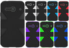 For Alcatel ONETOUCH Evolve 2 IMPACT TUFF HYBRID Protector Case Skin Phone Cover