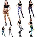 1pcs Fashion Gothic Women's Ladies Stretch Pencil Leggings Skinny Pants Trousers