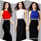Fashion Women High Waist Bandage Bodycon Evening Party Cocktail Long Maxi Dress