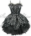 HELL BUNNY Victorian Steampunk ~PeTaL~ GOTHIC Party Dress 6-16 XS-XL