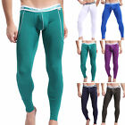 Sexy Mens Tights Compression leggings long Thermal pants Inner Wear Sleepwear