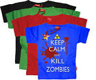Stardust KILL ZOMBIES T-SHIRT Unisex Baby/Child/Kids Clothing Cotton BN