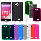 For LG Tribute LS660 F60 Cover TPU Candy Case + Screen Protector Accessory