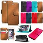Premium PU Leather Wallet Case Cover With Card Holder for iPhone 6 Plus/iPhone 6