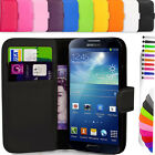 Flip Magnetic Leather Wallet Case Cover For Samsung Galaxy S2 S3 S4 S5 8190 9190
