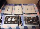 NIP (Package Wear)  Amerelle Decor Switch Outlet Covers Use Drop Box