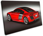 Audi R8 Cars SINGLE CANVAS WALL ART Picture Print VA