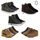 Warm Gefütterte Herren Sneakers High Top Winter Schuhe 74157 Mens Special