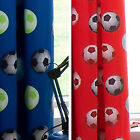 Football FC Curtains Funky Design 66 x 72