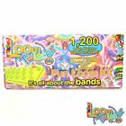 LOOM TWISTER Fun Set 1200 Bandz bands Loomis Bänder SV11758
