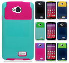 For Virgin Mobile LG Tribute LS660 NEST HYBRID HARD Case Rubber Phone Cover