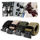Adjustable Men Heavy Duty Combat Waistband Survival Army Military Tactical Belts
