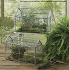 """Glass Terrariums by Park Designs, 14"""" Wide, Pick Small or Large, Metal & Glass"""