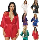 Hot Sexy Women Lingerie Sleepwear Seduction Robe G-string Nigh  Dress Underwear