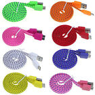 New USB Sync Data Charger Braided Cable For Samsung Galaxy S5 i9600 G900 Thrifty