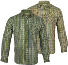 F06 Mens TATTERSAL Fleece Lined Check Shirt Long Sleeve Soft Work Casual Fleece