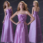 Long Sexy Evening Party Ball Prom Gown Formal Bridesmaid Cocktail Dress 2-16