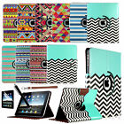 360 Rotating PU Leather Stand Case Magnetic Cover For Apple iPad 1 1st Gen +Pen
