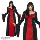 LADIES DARK TEMPTRESS VAMPIRE GOTHIC PLUS SIZE ADULT HALLOWEEN FANCY DRESS