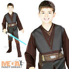 Anakin Jedi Boys Star Wars Fancy Dress Kids Costume Outfit Childs Ages 3-10 New