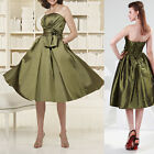 Sexy Women Casual Dress Strapless Cocktail Party Short Slim Mini Dress 2-16