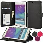 for Samsung Galaxy Note Edge - Luxury PU Leather Wallet Case Hard Flip Cover