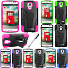 For LG Access LTE L31 F70 V3 Kickstand Hybrid Impact Case Phone Cover Stylus NEW
