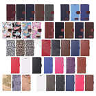 For Samsung Galaxy Note 4 N9100 Various Wallet Card Stand Flip Case Cover Skin