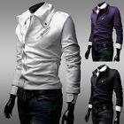XMAS  STUNNING SLIM FIT MENS SPORTS BOY VARSITY Tops Outerwear COAT JACKET XS-L