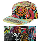Moda Essentials Men's Five Panel Strapback Asst Print Hat Cap