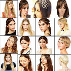 CHIC Women Fashion Metal Rhinestone Head Chain Jewelry Headband Piece Hair band