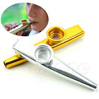 Kids Party Gift Golden Metal Kazoo Mouth Harmonica Flute Kid Musical Instrument