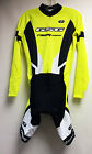 Women's ELITE Roubaix CYCLING Long Sleeve Skinsuit -Vuelta Pad in Yellow by GSG