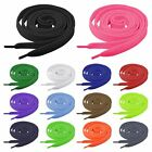 "Flat Athletic Shoe Lace 37 43 55"" Canvas Sneaker Shoelaces Unisex Strings Colors"