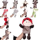 Animal Style Toddler Babys Kids Infant Plush Velour Hand Soft Puppets Toys Doll