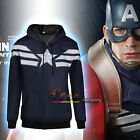 Superhero Men's Comic Superman Hoodie Hooded Sweatshirt Coat Jacket Casual Tops
