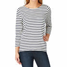 Joules Harbour  Womens  Top - Cream Stripe