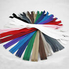 "12"" - 28"" OPEN ENDED NO.3 NYLON ZIPS *9 SIZES & 17 COLOURS* ZIPPER SEWING"