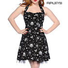 BANNED Mini DRESS Summer ANCHORS Cherry Bows Black Party Goth All Sizes