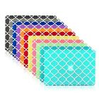 "Quatrefoil Moroccan Matte Hard Case for Macbook Air 13"" A1369 & A1466"
