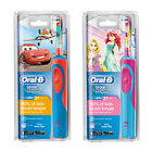 Oral-B Stages Power Kinder Wieder Aufladbare Zahnbürste Disney Princess & Cars
