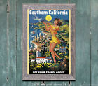 Southern California - Vintage Airline Travel Poster
