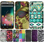 For ZTE Quartz Z797C Straight Talk Leopard Snap On HARD Case Cover Accessory